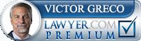 Victor Greco  Lawyer Badge