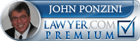 John Lino Ponzini  Lawyer Badge