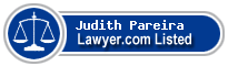 Judith Pareira Lawyer Badge