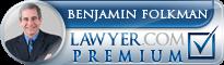 Benjamin Folkman  Lawyer Badge