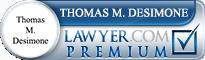 Thomas Matthew DeSimone  Lawyer Badge