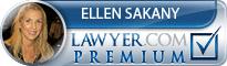 Ellen Sakany  Lawyer Badge
