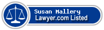 Susan Mallery Lawyer Badge