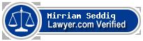 Mirriam Zary Seddiq  Lawyer Badge
