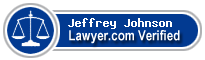 Jeffrey Dennis Johnson  Lawyer Badge
