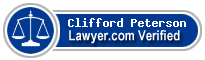Clifford Maurice Peterson  Lawyer Badge