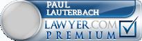Paul Douglas Lauterbach  Lawyer Badge