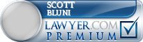 Scott Thomas Bluni  Lawyer Badge