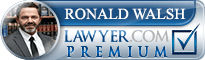 Ronald Thomas Walsh  Lawyer Badge