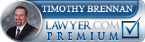 Timothy S. Brennan  Lawyer Badge
