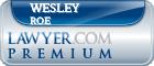 Wesley Allan Roe  Lawyer Badge
