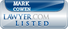 Mark Cowen Lawyer Badge