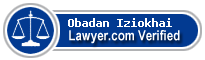 Obadan Unuigbojie Iziokhai  Lawyer Badge