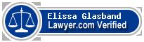Elissa Judith Glasband  Lawyer Badge
