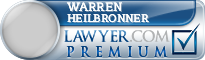 Warren H. Heilbronner  Lawyer Badge