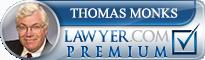 Thomas Robert Monks  Lawyer Badge