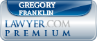 Gregory A. Franklin  Lawyer Badge