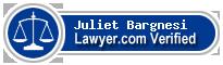 Juliet Marie Bargnesi  Lawyer Badge