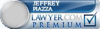 Jeffrey A. Piazza  Lawyer Badge