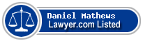 Daniel Mathews Lawyer Badge