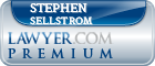 Stephen Elmer Sellstrom  Lawyer Badge