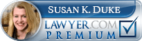 Susan Kathleen Duke  Lawyer Badge