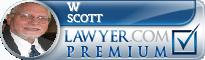 W Ross Scott  Lawyer Badge