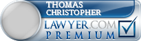 Thomas Christopher  Lawyer Badge