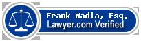 Frank L. Madia, Esq.  Lawyer Badge