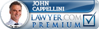 John Albert Cappellini  Lawyer Badge