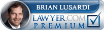 Brian Edward Lusardi  Lawyer Badge