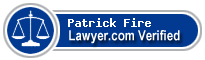 Patrick Carmen Fire  Lawyer Badge