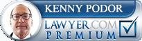 Kenneth Charles Podor  Lawyer Badge