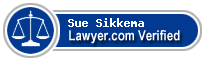 Sue Ann Sikkema  Lawyer Badge