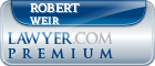Robert Egger Weir  Lawyer Badge