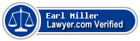 Earl Robert Miller  Lawyer Badge