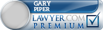 Gary Alan Piper  Lawyer Badge