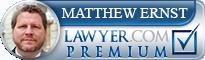 Matthew Ernst  Lawyer Badge