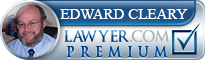 Edward Cleary  Lawyer Badge