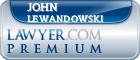 John Paul Lewandowski  Lawyer Badge