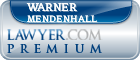 Warner Mendenhall  Lawyer Badge