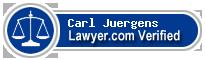 Carl Elwood Juergens  Lawyer Badge