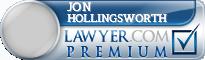 Jon Mark Hollingsworth  Lawyer Badge
