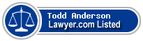 Todd Anderson Lawyer Badge