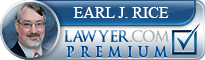 Earl John Rice  Lawyer Badge