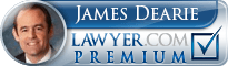James A. Dearie  Lawyer Badge