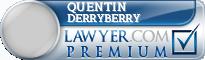 Quentin Martin Derryberry  Lawyer Badge