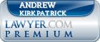 Andrew Wildey Kirkpatrick  Lawyer Badge