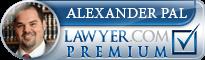 Alexander Laszlo Pal  Lawyer Badge