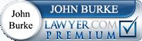 John Francis Burke  Lawyer Badge